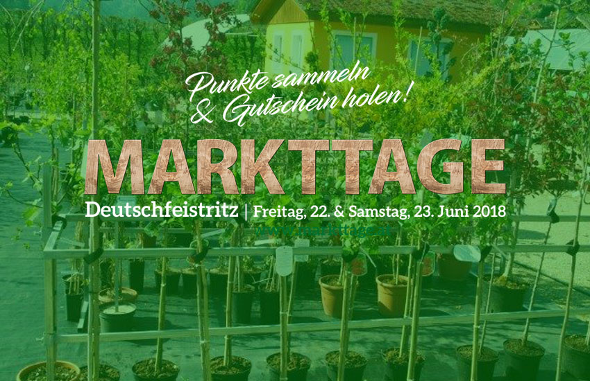 Deutschfeistritzer Markttage